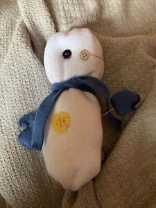 Cute Blue Snowman For Melody
