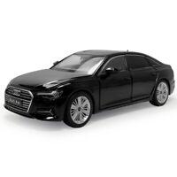 1:32 Scale Audi A6 Sedan Model Car Diecast Gift Toy Vehicle Light Kids Black