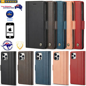 PU + TPU Horizontal Flip Leather Case with Holder& Card Slots& Wallet For iPhone
