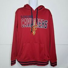 NBA Cleveland Cavaliers Polyester Pullover Sweater Hoodie Mens Sz XL RN#109135