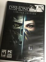 Dishonored 2: Limited Edition (PC, Windows) Brand New Factory Sealed! USA!
