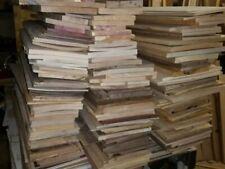 THIN HARDWOOD LUMBER Scraps WALNUT Red Oak MAPLE Cherry ASH Wood Crafts Scroll