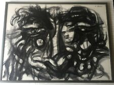"Sheldon C. Schoneberg Original Pastel Painting, Signed, Framed, 40"" x 30"" Image"