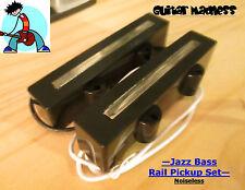 G.M. Jazz Bass Rail Pickup Set Noiseless