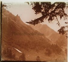 Puy de Sancy Puy-de-Dôme France Photo H23 Plaque de verre Stereo Vintage