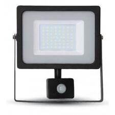 50W Slim LED Security Motion Sensor Floodlight Warm White PIR Flood Light V-TAC