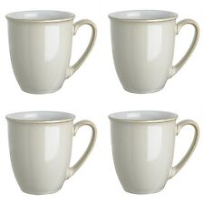 Denby Linen Coffee Mug Beakers 0.3ltr 4 Pack 1st Quality 40% Off RRP