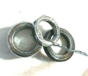 ROLLS ROYCE SILVER SHADOW windshield WIPER linkage END NUT, SEAL AND SPACER