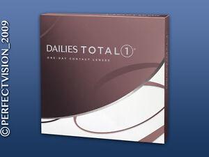 Dailies Total 1 - Alcon - neue Wassergradiente Tageslinsen - 1 x 90 Stück