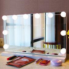 10x LED Make-up Spiegelleuchte Spiegellampe Hollywood Style Schminklicht ALI