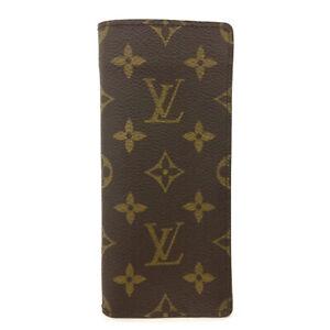 Louis Vuitton Monogram Etui a Lunettes Simple Glasses Case/B0576