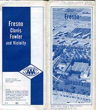 1969 AAA Freno Vintage Road Map