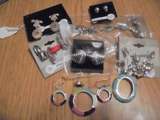 Scrap or to wear Sterling Silver jewelry lot 78.6 grams (8 pieces)