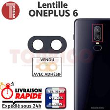 Vitre arrière caméra ONEPLUS 6 Lentille appareil photo Lens verre back ONE PLUS