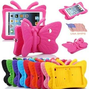 "Butterfly Kids Shockproof Case Cover for iPad Mini/Air/Air2/Pro 9.7"" 5th 6th Gen"