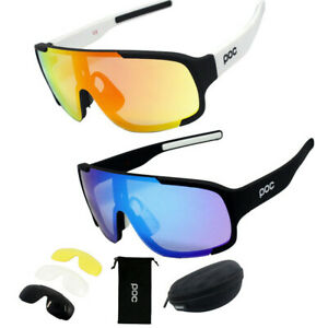 POC Outdoor Cycling Glasses Mountain Bike Goggles Bicycle Men Sunglasses