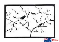 METAL BIRD WALL ART, HOME DECOR, WALL SCULPTURES, GIFT, WROUGHT IRON