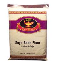 (2 lb pack) Deeps Soy Bean Flour Gluten Free baking Soy 2lb 907gm Farine de Soja