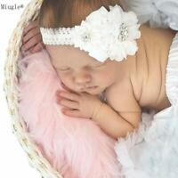 NE_ HD_ ITS- Lovely Baby Girl 2-Layer Lace Flower Elastic Hairband Headband Hair