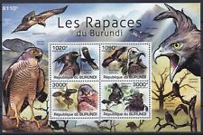 Burundi Block 156 (2018 - 2021) **, Greifvögel / Birds Of Prey (9,50 ME)