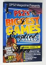 PS2's BIGGEST GAMES SOLVED Mini Book PS2 Playstation 2 OPS2 Magazine Presents