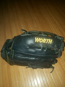 """Worth Players Series Left Hand Thrower 14"""" Softball Glove New Without Tags"""