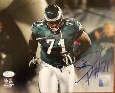 Jason Peters Autograph Signed Philadelphia Eagles 8x10 Photo JSA Witness COA