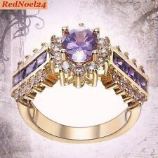 Cubic Zirconia Band Oval Fine Gemstone Rings