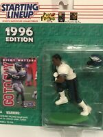1996 Starting lineup Ricky Watters figure Card Philadelphia Eagles Notre Dame
