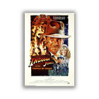 Indiana Jones And The Temple Of Doom Classic Art Movie Poster HD Print