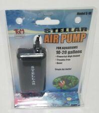 Stellar Aquarium Air Pump 10-20 Gallons