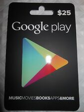 $25 Google Play Gift Card - Actual Physical Gift Card shipped SAME DAY  #14