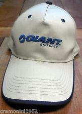 Cappellino cap GIANT bicycles beige bici bike cappello bike mtb casual hat