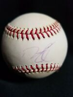 DUSTIN PEDROIA *SIGNED MLB BASEBALL BOSTON RED SOX  4/LIFE AUTHENTIC AUTOGRAPH *