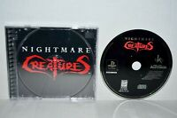 Nightmare Creatures (Sony PlayStation 1, 1997) PS1 PSOne PS2 PSX Black Label