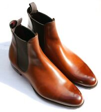 BNIB Gaziano Girling 'Maddison' Vintage Oak Brown Ladies Chelsea Boots 7 UK