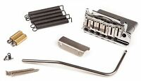 Genuine Fender Deluxe USA Stratocaster/Strat 2 Point Chrome Tremolo Bridge