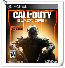 PS3 Call of Duty: Black Ops 3 III SONY PLAYSTATION Activision Action Games