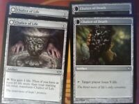 4x Chalice of Life / Death - Dark Ascension - Magic the Gathering Mtg Tracked