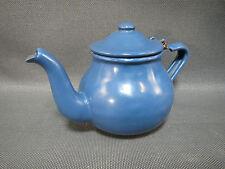 Ancienne petite théière en métal émaillé french antique enamel tea pot