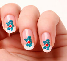 20 Nail Art Decals Transfers Stickers #528 -  care bear  peel & stick