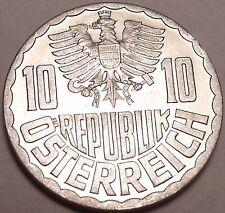 Gem Unc Austria 1955 10 Groschen~Minted In Vienna~We Have Old Unc Coins~Free Shi