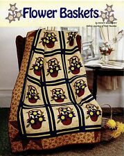 Flower Baskets  Quilt   pattern only