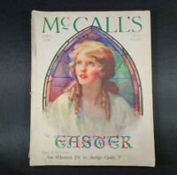 April 1928 McCall's magazine vintage Neysa McMein Cover Whole Mag Recipes Ads