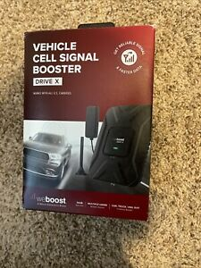 weBoost Drive X Cell Phone Signal Booster Kit For Car Truck SUV (475021)