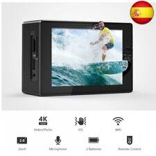 Victure Cámara Deportiva 4K Wi-Fi 20MP Camara Acuática Camaras Acción Su