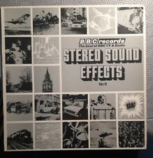 Stereo Sound Effects from the BBC No 9 Vinyl LP