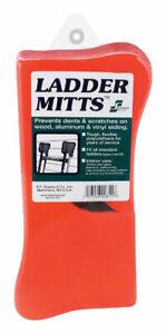 Staples  Polyurethane  Red  Ladder Mitts  1 pk