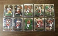 2020 Panini Prizm Washington Football Team Lot- Antonio Gibson RC Terry Mclaurin