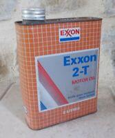 Öldose ESSO Exxon Dose Blechdose Tankstelle Motoröl vintage Frankreich